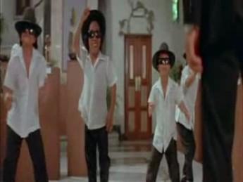 Jeux de nains... : extrait vidéos du film American Ninja