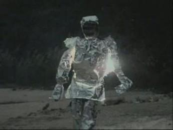 Robocop en papier alu