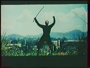 Un méchant en roue libre : extrait vidéo du film L'empire des ninjas