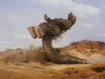 Godzilla champion de free fight : extrait vidéos du film Godzilla contre Megalon