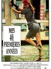 MES 40 PREMIÈRES ANNÉES