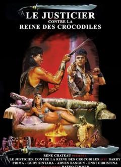 Le justicier contre la reine des crocodiles