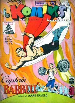 Couverture originale du comic-book (N°2 du 6 juin 1963)
