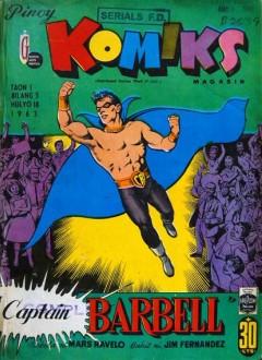 Couverture originale du comic-book (N°5 du 18 juillet 1963)