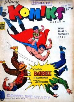 Couverture originale du comic-book (N°15 du 5 décembre 1963)