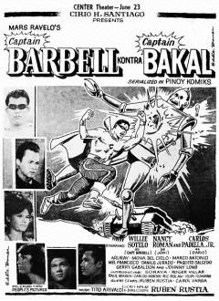 L'affiche originale de « Captain Barbell kontra Captain Bakal » (1965)