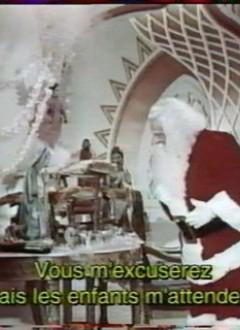 Dans une tentative de concilier Père Noël et catholicisme, le gros barbu philantrope est montré vénérant la Vierge Marie (pourquoi pas ?).