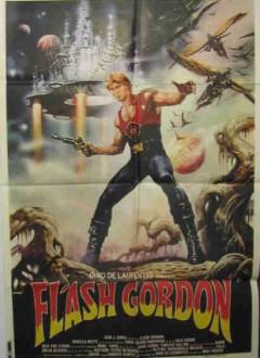 Une affiche cinéma d'époque.