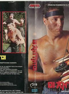 Une VHS grecque où on se demande bien qui est le type sur la jaquette...